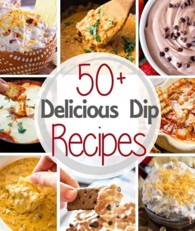 Over 50 Delicious Dips