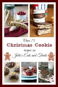 'Tis the season for cookies! I've rounded up over 75 Christmas Cookie recipes to use for cookie swaps, holiday parties and gifts. Grab a cookie and enjoy!