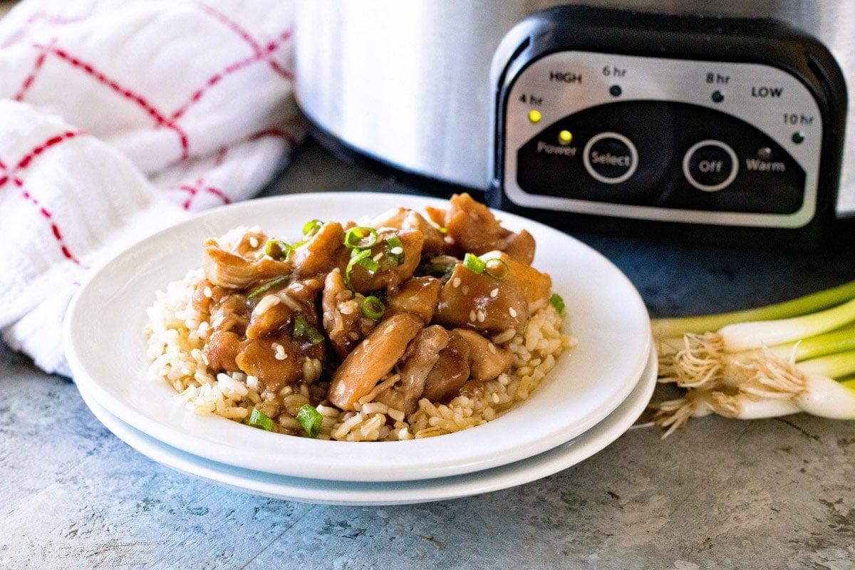 slow cooker chicken teriyaki recipe for an easy dinner recipe