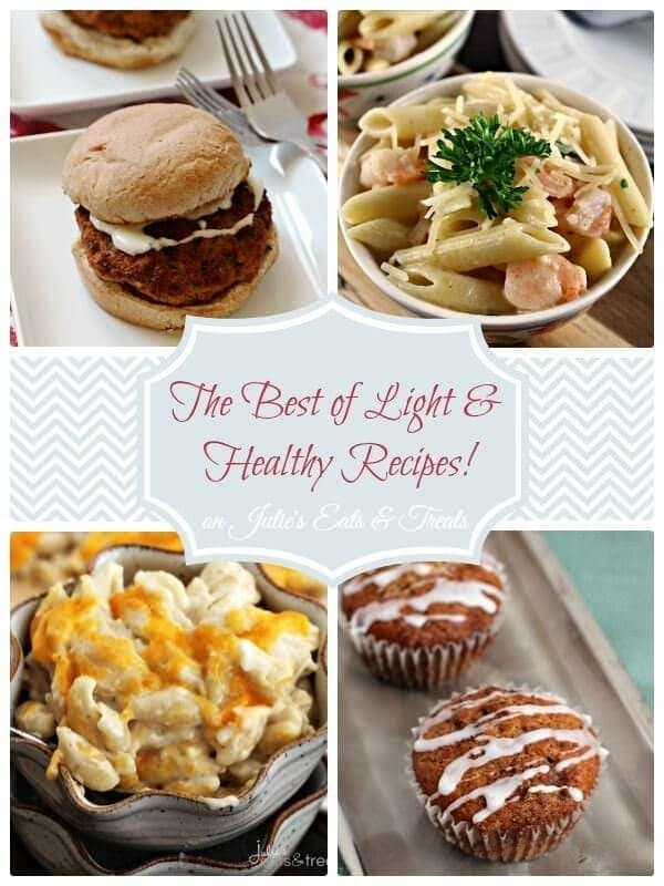 The Best of Light & Healthy Recipes to jump start your diet!