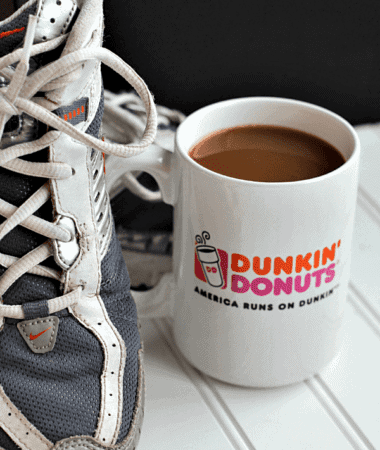 Mug Up Fitness ~ Enter your picture at Dunkin' Donuts to win $250!