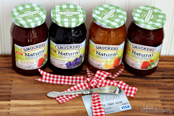 Smucker's® Natural Fruit Spreads ~ Perfect topping for your favorite treat!