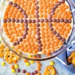 Basketball Peanut Butter Dip Pinterest