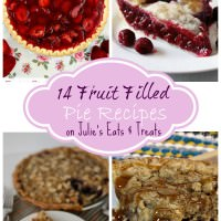 14 Fruit Filled PIe Recipes Round Up for You!