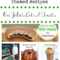 30 Girl Scout Cookie Themed Recipes is a round up filled with new ways to enjoy your favorite cookies!