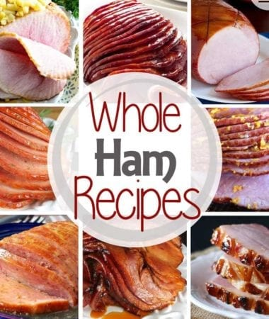 Whole Ham Recipes