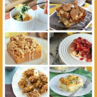over 75 brunch recipes, including everything from french toast to egg casseroles and everything in between.