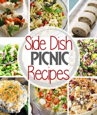Side Dish Picnic Recipes Square Collage