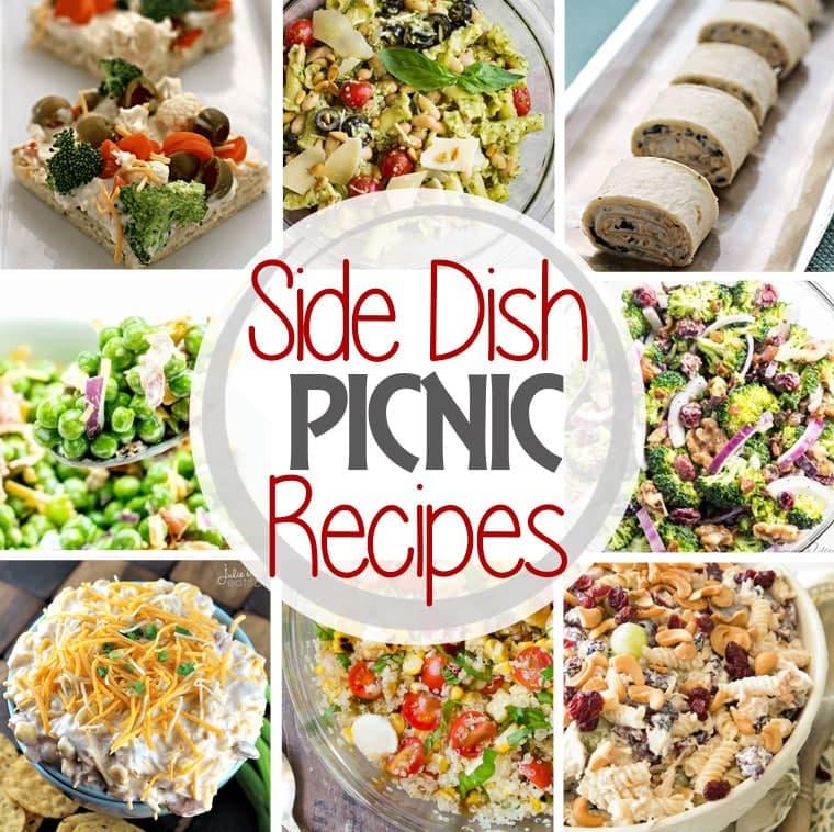Side Dish Picnic Recipes Square Collage