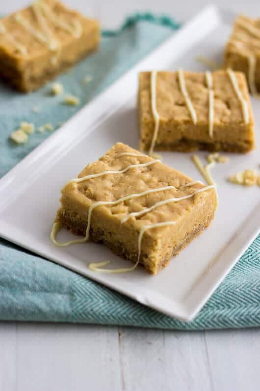 Chocolate Almond Rice Krispie Treat Bars with Sugar Cookie Crust - Julie's Eats and Treats