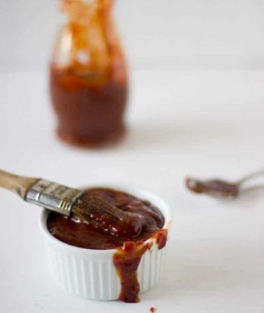 Homemade Barbecue Sauce ~ Filled with smoky, sweet, spicy and strong flavors!