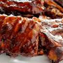 Smokey Barbecue Ribs ~ Smokey, Tender Ribs Loaded in a Homemade Barbecue Sauce!