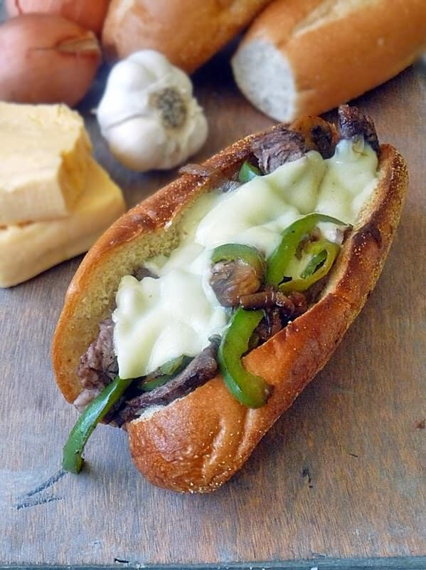 slow-cooker-cheese-steak