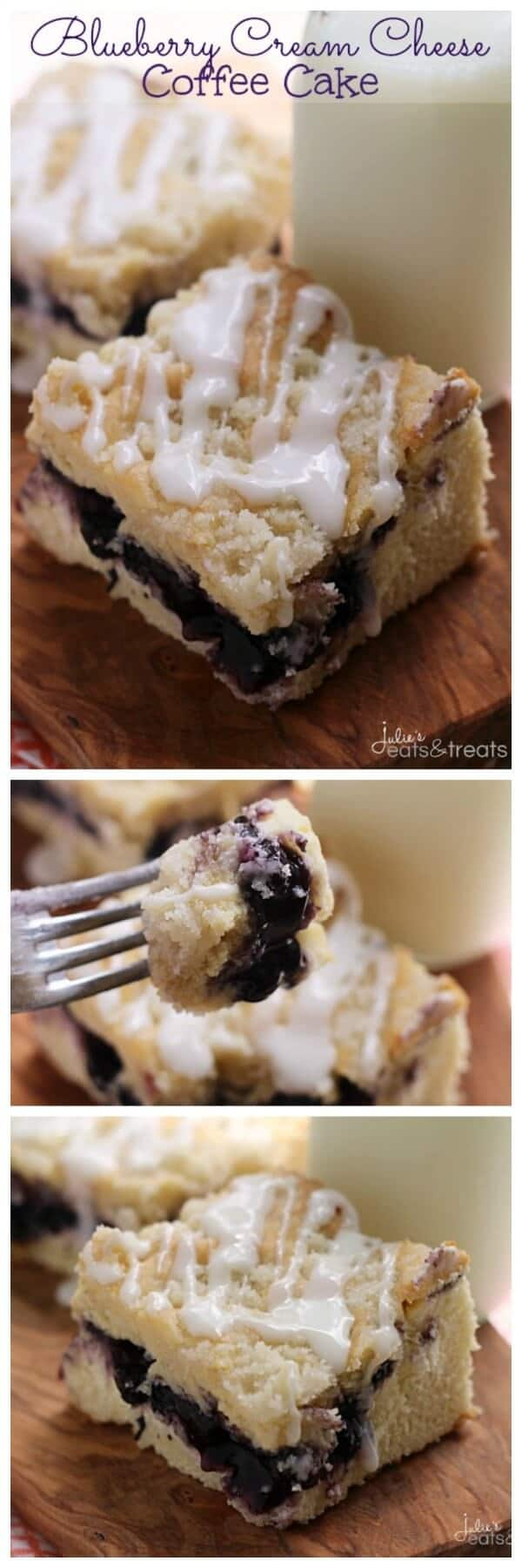 Blueberry Cream Cheese Coffee Cake ~ Delicious Coffee Cake Stuffed ...