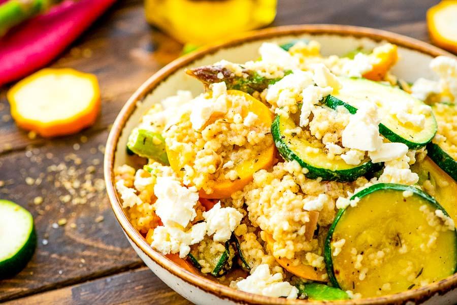 Bowl of Couscous Salad