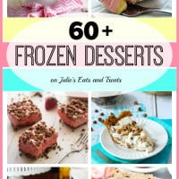 Over 60 of the best frozen dessert recipes to keep you cool! Grab a delicious frozen treat and enjoy!