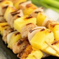 Easy Pineapple Chicken Skewers