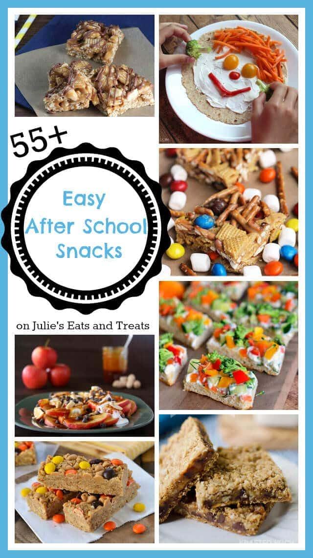 55 easy after school snacks julie 39 s eats treats for Easy after school snacks for kids to make