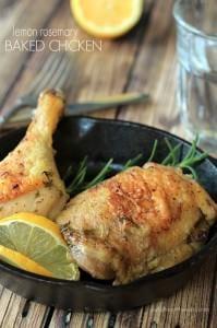Lemon Rosemary Baked Chicken_5