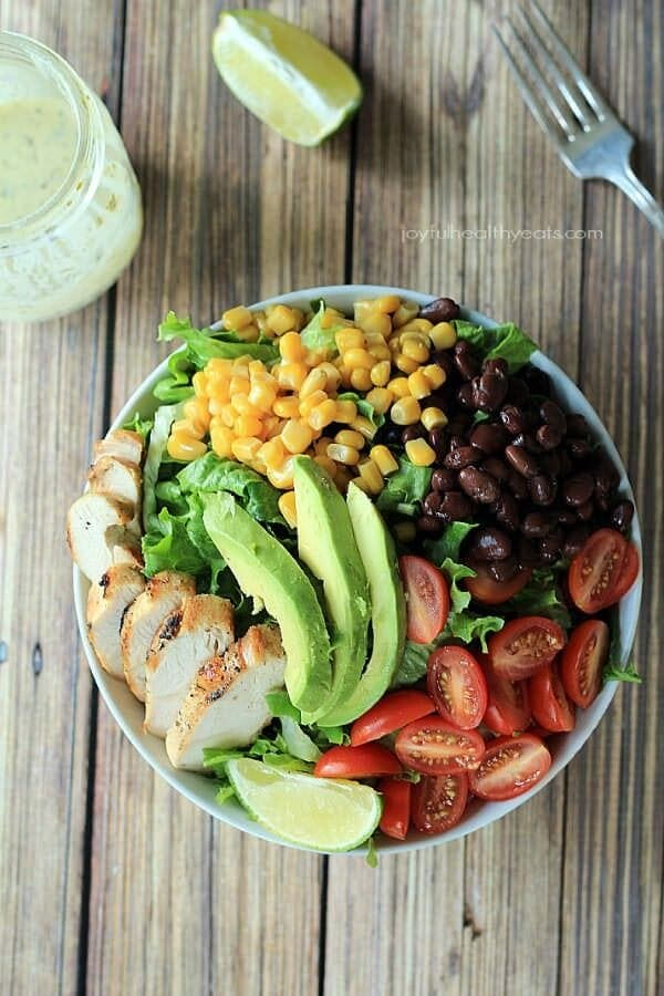 Southwestern Chicken Chopped Salad_4J