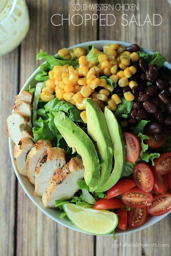 Southwestern Chicken Chopped Salad_5J