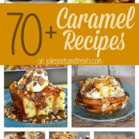 Over 70 Delicious Caramel Recipes in one place just for you to enjoy! Everything from Breakfast, Cookies, Bars, Dips and More!