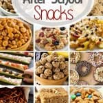 Are you looking for tasty, easy after school snacks that your kids will love? Today I've rounded up after school snack ideas including everything from snack bars and snack mix to popsicles and veggie pizza! You'll have plenty ofsnacks for after schoolnow!