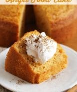 Pumpkin Angel Food Cake ~ Light, Airy Angel Food Cake with a Hint of Pumpkin!