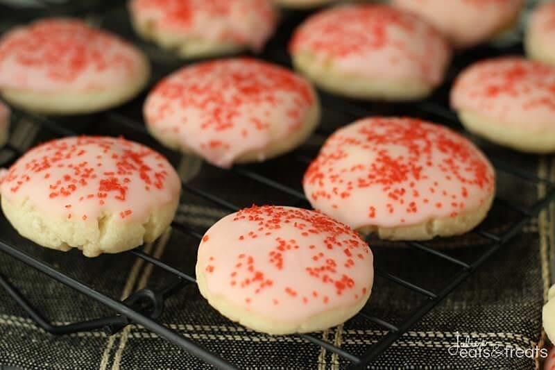 Almond Cherry Cookies Landscape