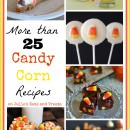 25+ Candy Corn Recipes! Grab a bag or two and make one of these candy corn recipes either using candy corn or inspired by candy corn!