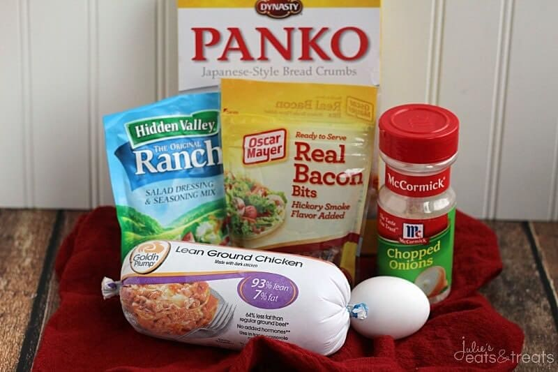 Chicken Bacon Ranch Meatloaf Ingredients