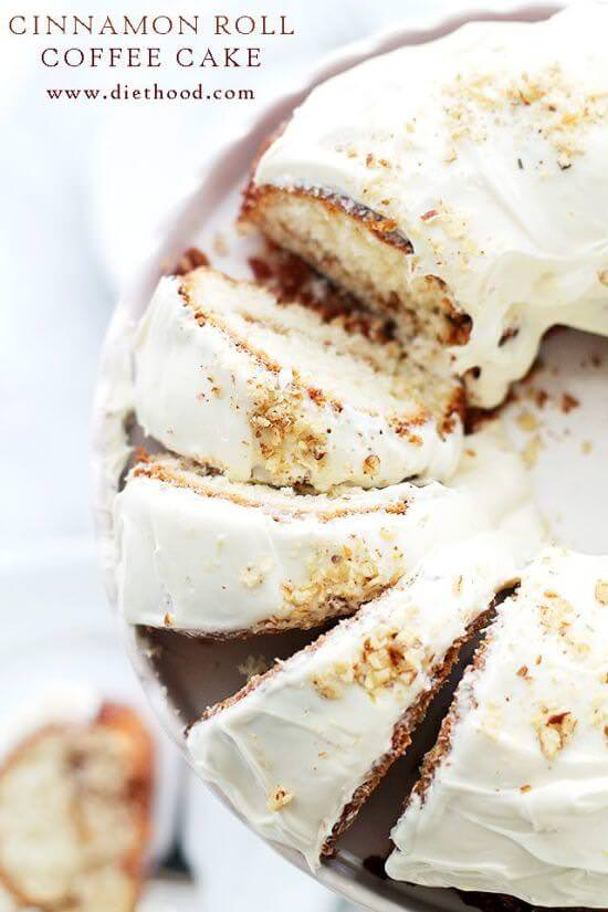 Cinnamon Roll Coffee Cake