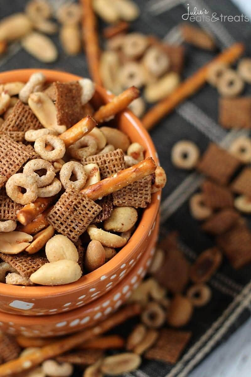 Crock Pot Chex Mix Bowl