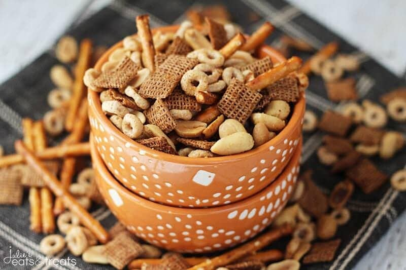 Crock Pot Chex Mix Landscape