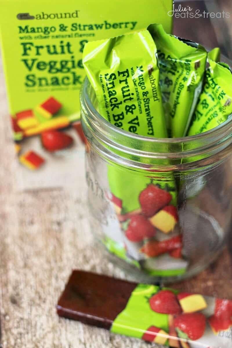 Fruit Veggie Snack Bars