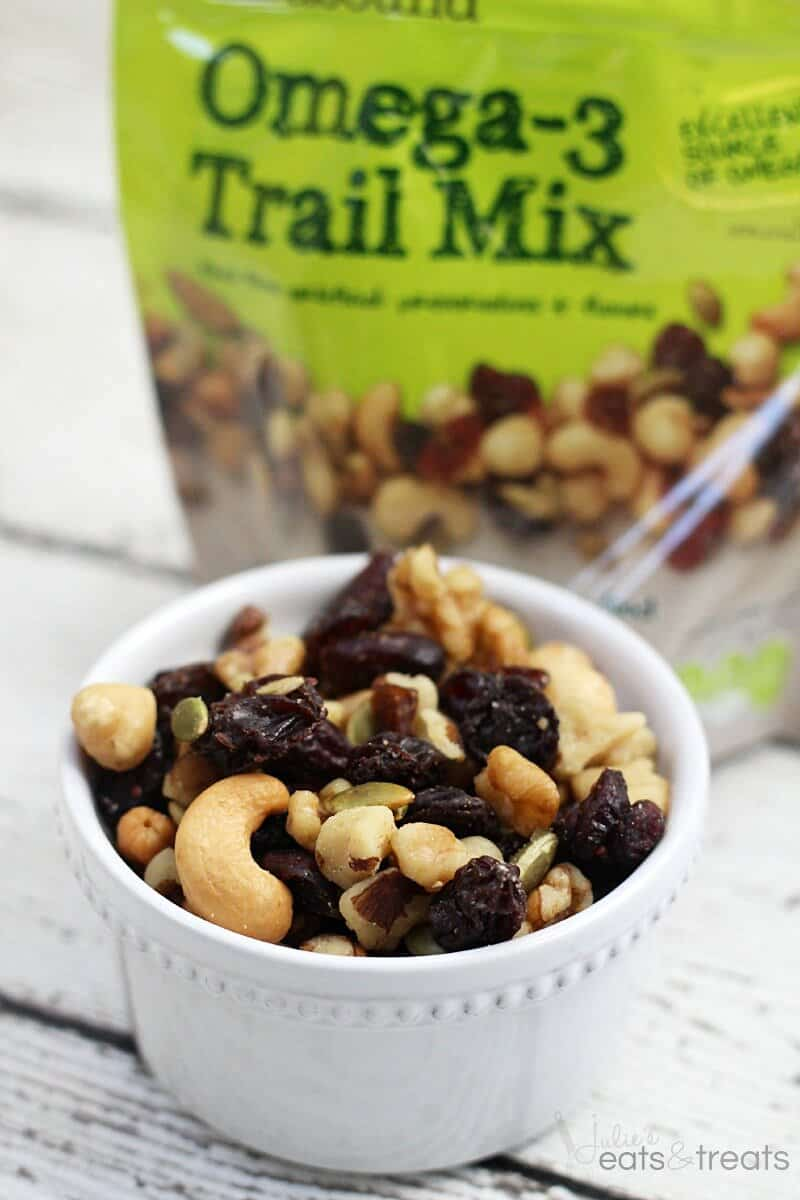 Omega-3 Trail Mix is an excellent source of ALA omega-3s. This trail ...