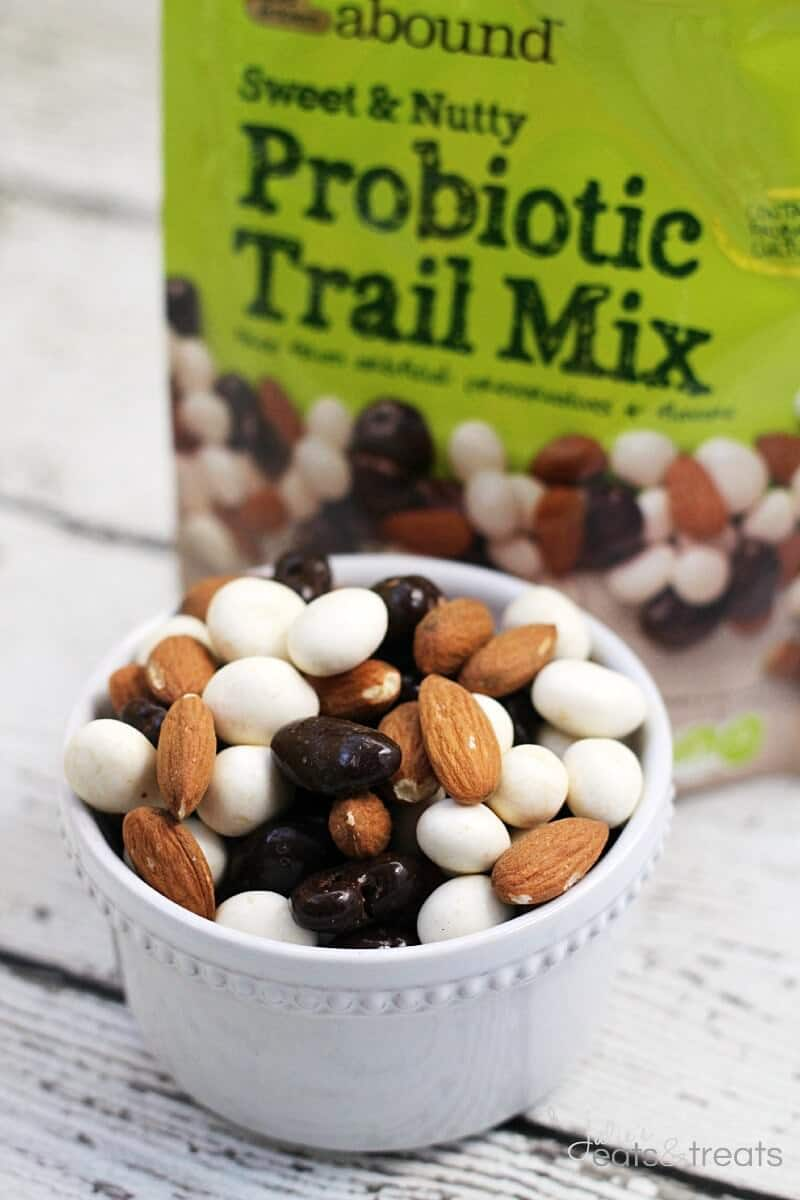 Sweet Nutty Probiotic Trail Mix