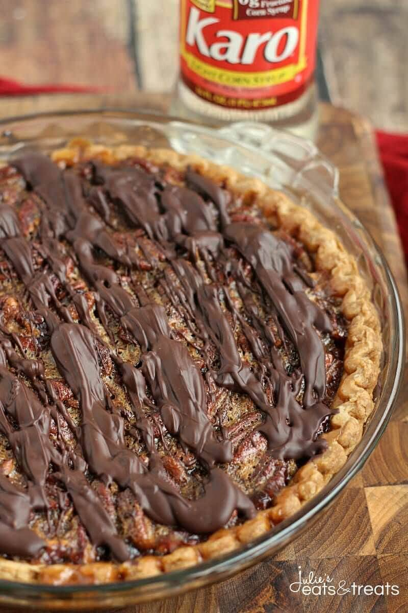 Chocolate Pecan Pie - Julie's Eats & Treats