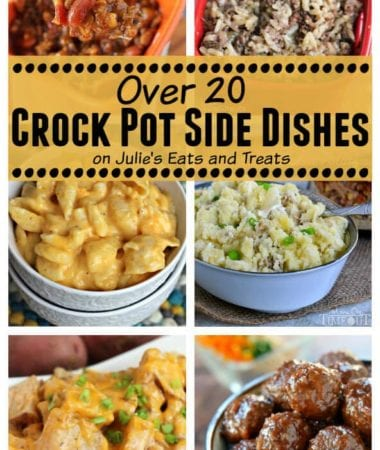 With over 20 crock pot side dishes, you can create an easy and delicious meal that the entire family will love!