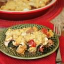 This pizza pot pie is an easy dinner recipe your family will love! {By The Weary Chef for Julie's Eats and Treats}