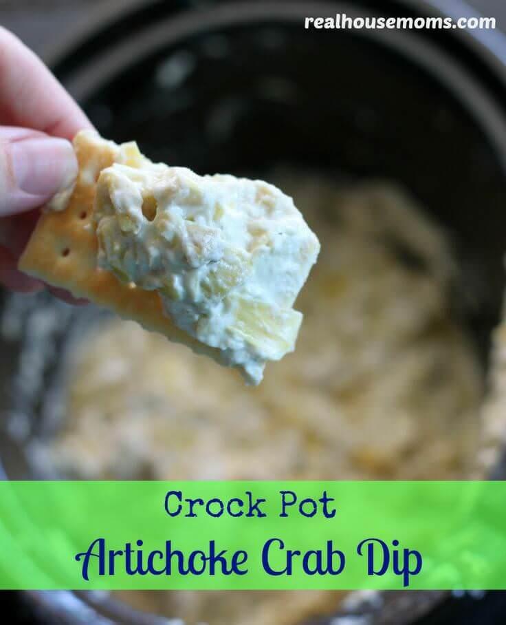 Artichoke Crab Dip