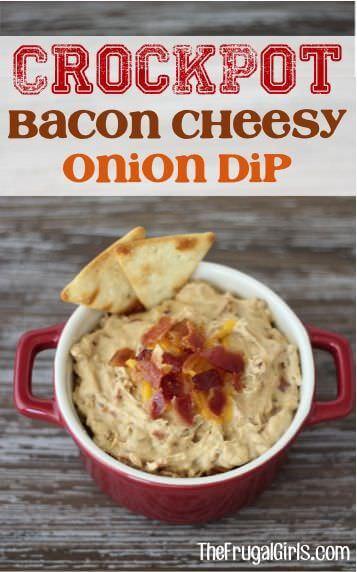 Bacon Cheesy Onion Dip