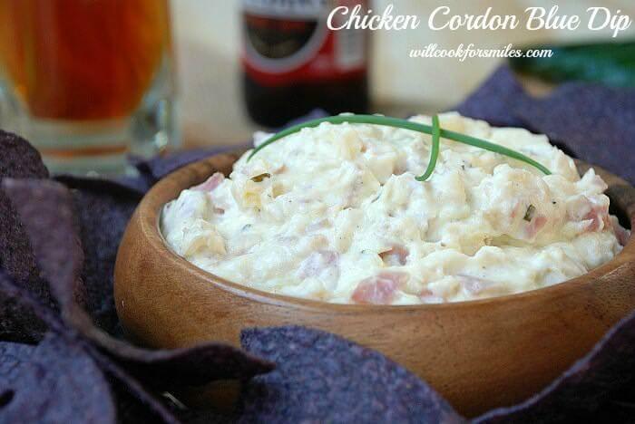Chicken Cordon Bleu Dip