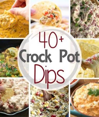 40+ Crock Pot Dips!