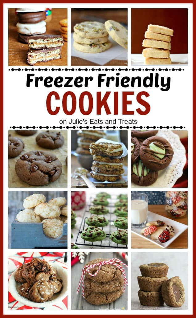 Plan ahead for your next cookie swap, holiday party or family gathering! Make a few batches of cookies, freeze them and then enjoy them as desired!