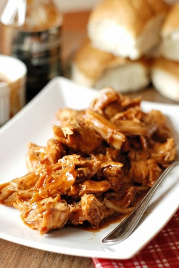 Chipotle Peach BBQ Chicken