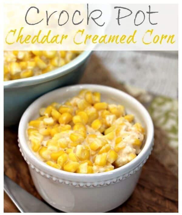Crock Pot Cheddar Creamed Corn Cropped