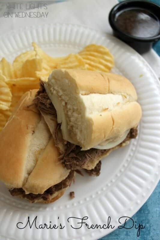 Marie's Crock Pot French Dip