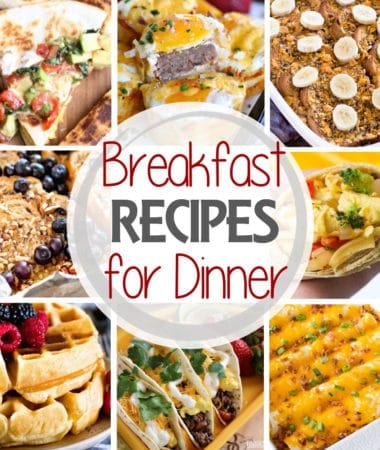 Breakfast Recipe for Dinner Square