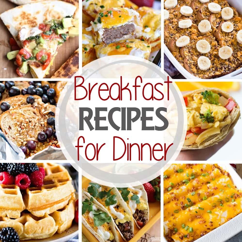 Breakfast Recipe for Dinner Square